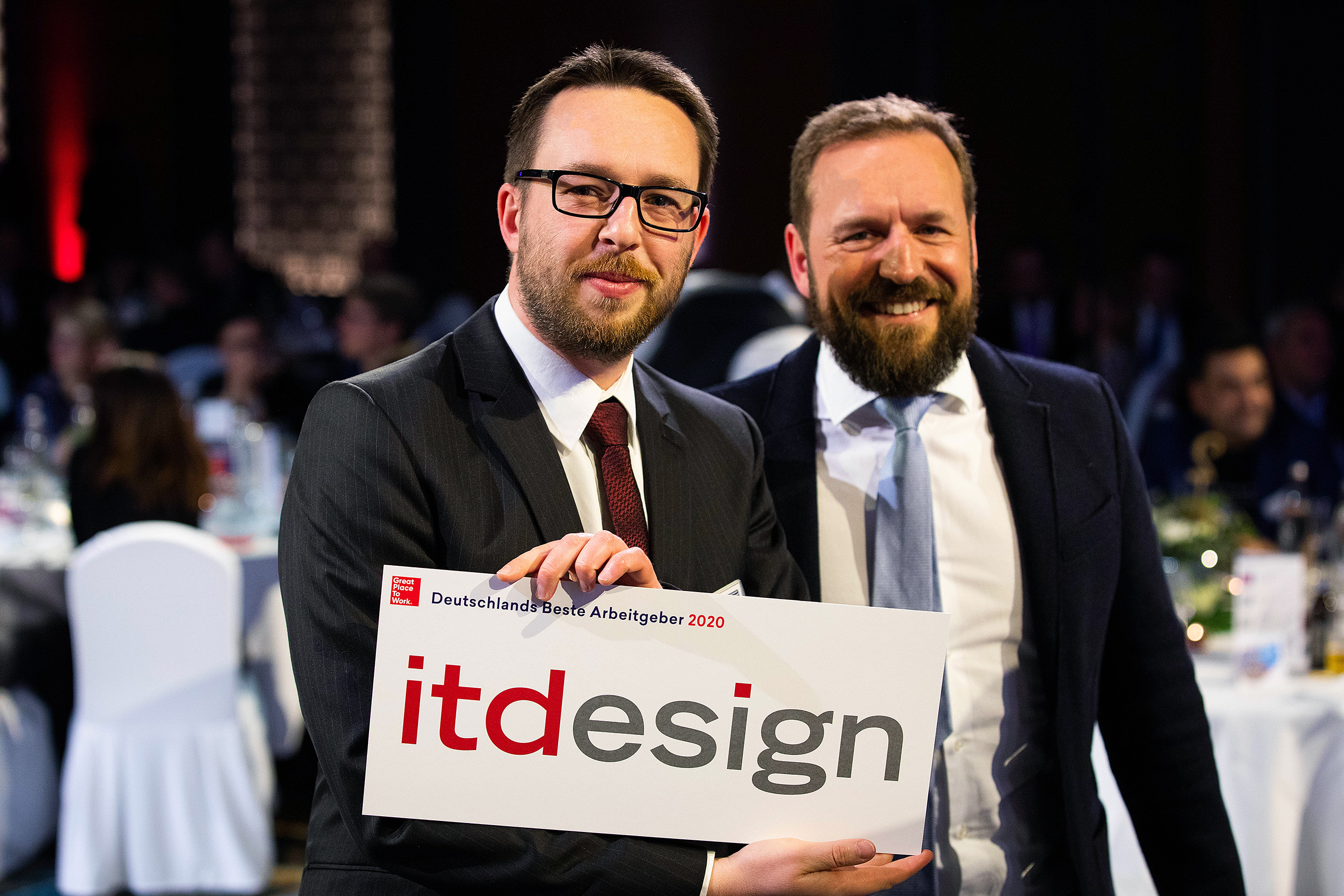 itdesign received the Great Place to Work award.